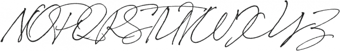 Bon Vivant otf (400) Font UPPERCASE