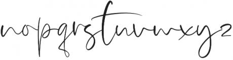 Bonavista otf (400) Font LOWERCASE