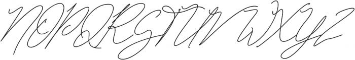 Bonbaste Script otf (400) Font UPPERCASE