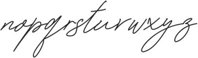 Bonbaste Script otf (400) Font LOWERCASE