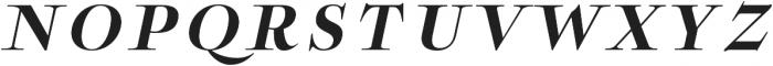 Boncaire Titling Bold Ital otf (700) Font UPPERCASE