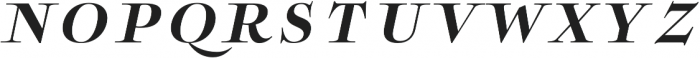 Boncaire Titling Bold Ital otf (700) Font LOWERCASE