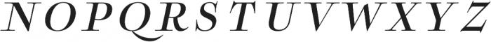 Boncaire Titling Medium Ital otf (500) Font LOWERCASE