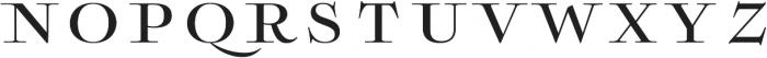 Boncaire Titling Medium otf (500) Font LOWERCASE