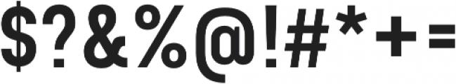 Bond 4F SemiBold otf (600) Font OTHER CHARS