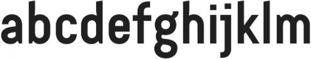 Bond 4F SemiBold otf (600) Font LOWERCASE