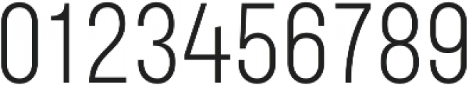 Bond 4F UltraLight otf (300) Font OTHER CHARS