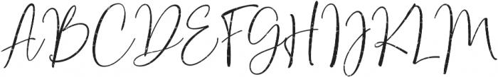 Bondi Sans Script Rough ttf (400) Font UPPERCASE