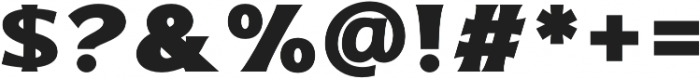 Bonega Bold otf (700) Font OTHER CHARS
