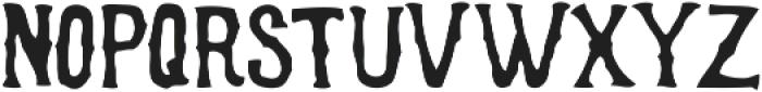 Bonerica ttf (400) Font LOWERCASE