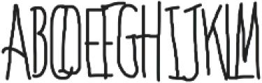 Bones to Your Generic Script Font! otf (400) Font UPPERCASE