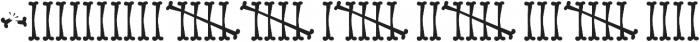 Bonestyle ttf (400) Font OTHER CHARS
