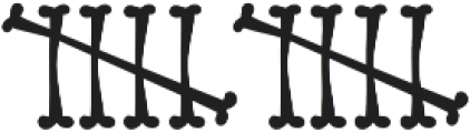 Bonestyle ttf (400) Font LOWERCASE