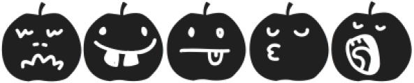Bonestyledingbatcatchword ttf (400) Font LOWERCASE