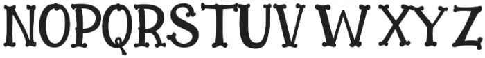 Bonesyle otf (400) Font UPPERCASE