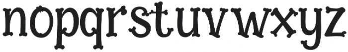 Bonesyle otf (400) Font LOWERCASE