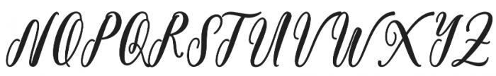 BonetyLady otf (400) Font UPPERCASE