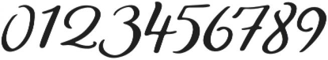Bonfire otf (400) Font OTHER CHARS