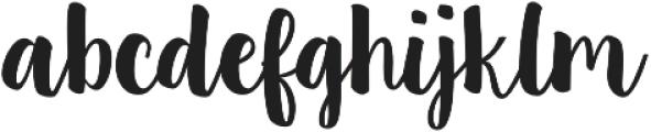 Bonin Regular otf (400) Font LOWERCASE