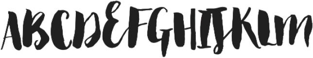 BonjourAltUppercase ttf (400) Font LOWERCASE