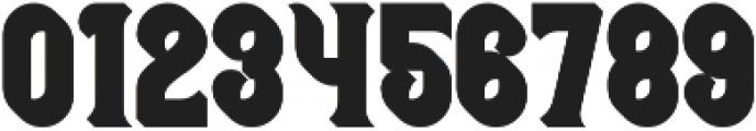 Bonneville Extrude otf (400) Font OTHER CHARS