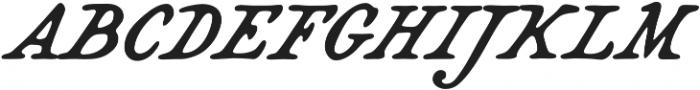 Bonnycastle otf (400) Font UPPERCASE