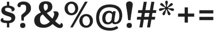 Bonobo Bold otf (700) Font OTHER CHARS