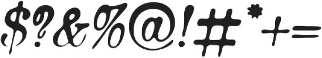 Bonsai otf (400) Font OTHER CHARS