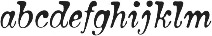 Bonsai otf (400) Font LOWERCASE