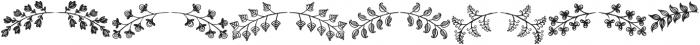 Bonus otf (400) Font LOWERCASE