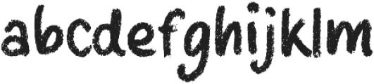 Boo Regular otf (400) Font LOWERCASE