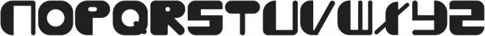 Boogey ttf (400) Font UPPERCASE