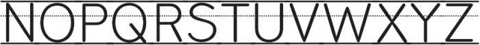 Bookbag Alt Lined otf (400) Font UPPERCASE