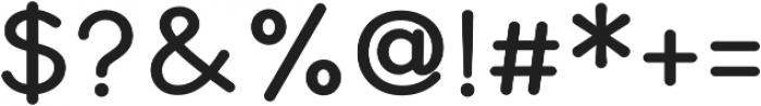 Bookbag Alt otf (400) Font OTHER CHARS