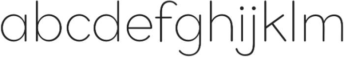 Bookbag Light otf (300) Font LOWERCASE