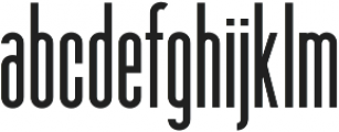 Bookend otf (400) Font LOWERCASE