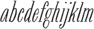 Bookeyed Jack Regular otf (400) Font LOWERCASE