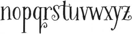Bookeyed Martin otf (400) Font LOWERCASE