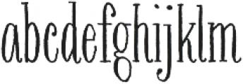 Bookeyed Nelson otf (400) Font LOWERCASE
