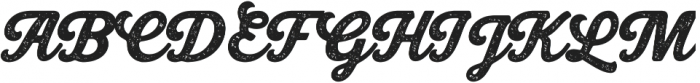 Bookman Press Script otf (400) Font UPPERCASE
