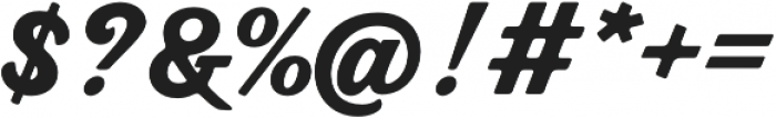 Bookman Script otf (400) Font OTHER CHARS