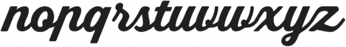 Bookman Script otf (400) Font LOWERCASE