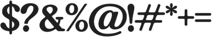 Bookman Serif otf (400) Font OTHER CHARS