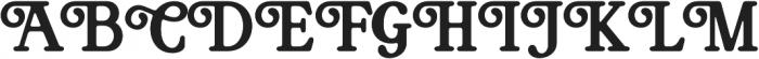 Bookman Serif otf (400) Font UPPERCASE