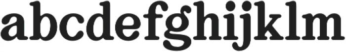 Bookman Serif otf (400) Font LOWERCASE