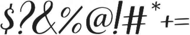 Books Script ttf (400) Font OTHER CHARS