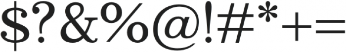 Bookseller Bk Ample otf (400) Font OTHER CHARS