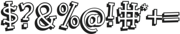 BookwormKid-Regular otf (400) Font OTHER CHARS