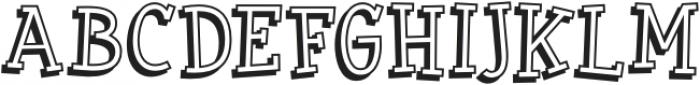 BookwormKid-Regular otf (400) Font UPPERCASE