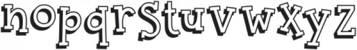 BookwormKid-Regular otf (400) Font LOWERCASE